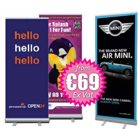 Pull Up Banners Dublin