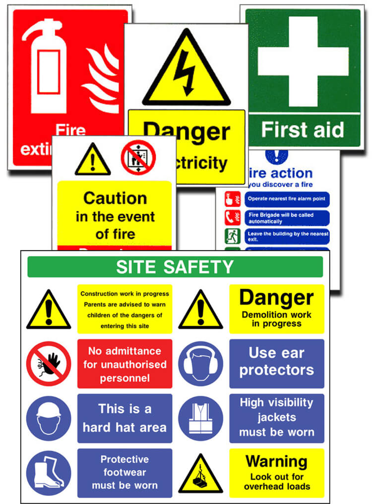 Health Safety Signs Supplier Dublin Ireland Printroom Banner Printing