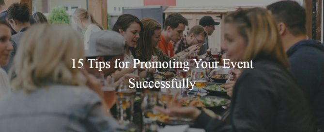 Promoting Your Event Successfully