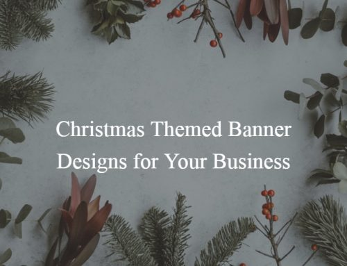 Christmas Themed Banner Designs for Your Business