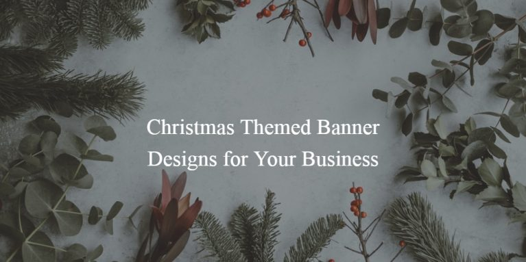 cheery christmas banner